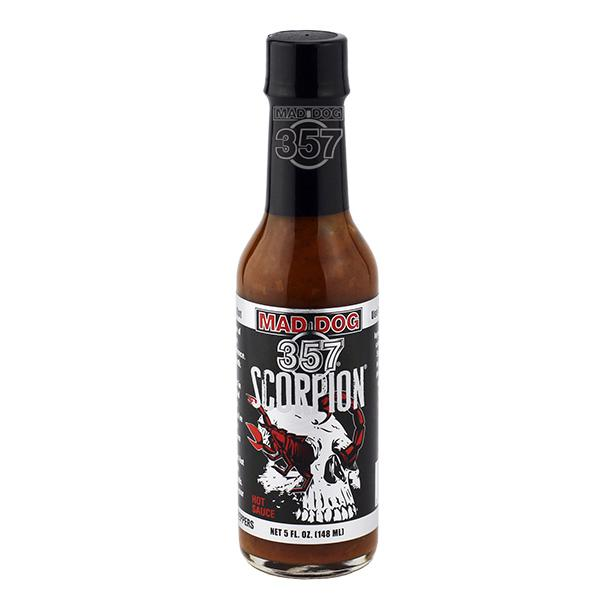Mad Dog 357 Scorpion Hot Sauce 1-5 oz Hot Sauce maddog357.com