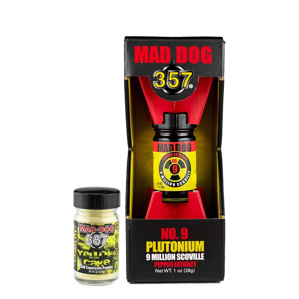 Mad Dog 357 TWO Bottle Nuclear Pack Pepper Extract maddog357.com