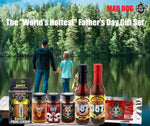 "The ""World's Hottest"" Father's Day Gift Set Hot Sauce maddog357.com"