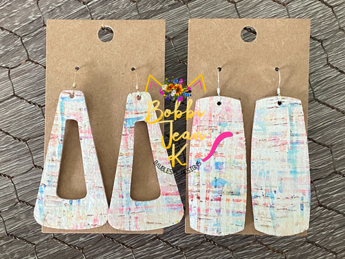 Rainbow Canvas: Bar and Triangular Dangle Shape Options