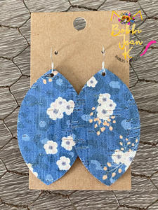 Blue Skies- Leaf & Wedge Shape Options