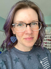 Load image into Gallery viewer, Black Vines Leather Earrings- Leaf & Elongated Drop Shape Options