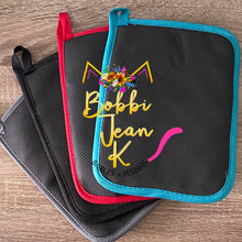 Load image into Gallery viewer, How Sweet it is to be Taught By You Pot Holder Gift Set