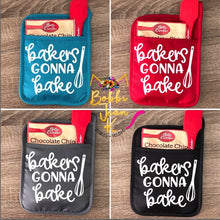 Load image into Gallery viewer, Bakers Gonna Bake Pot Holder Gift Set