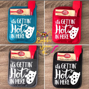 It's Gettin' Hot in Here Pot Holder Gift Set