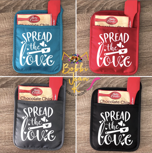 Spread the Love Pot Holder Gift Set