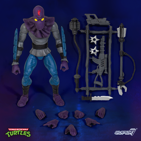 TEENAGE MUTANT NINJA TURTLES ULTIMATE x SUPER 7 - FOOT SOLDIER