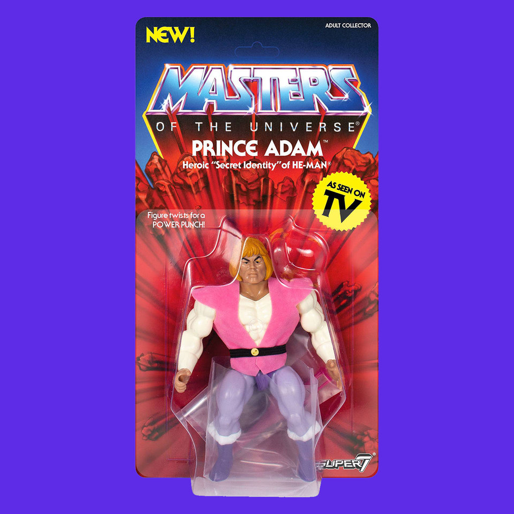 MASTERS OF THE UNIVERSE - VINTAGE COLLECTION PRINCE ADAM 14CM