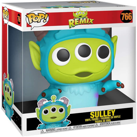 FUNKO POP - PIXAR REMIX - TOY STORY ALIEN AS SULLY (10 INCH, OVERSIZE!)