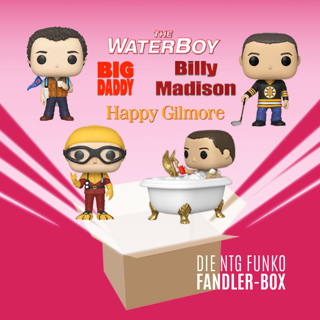 DIE FUNKO POP! NTG ADAM FANDLER SET