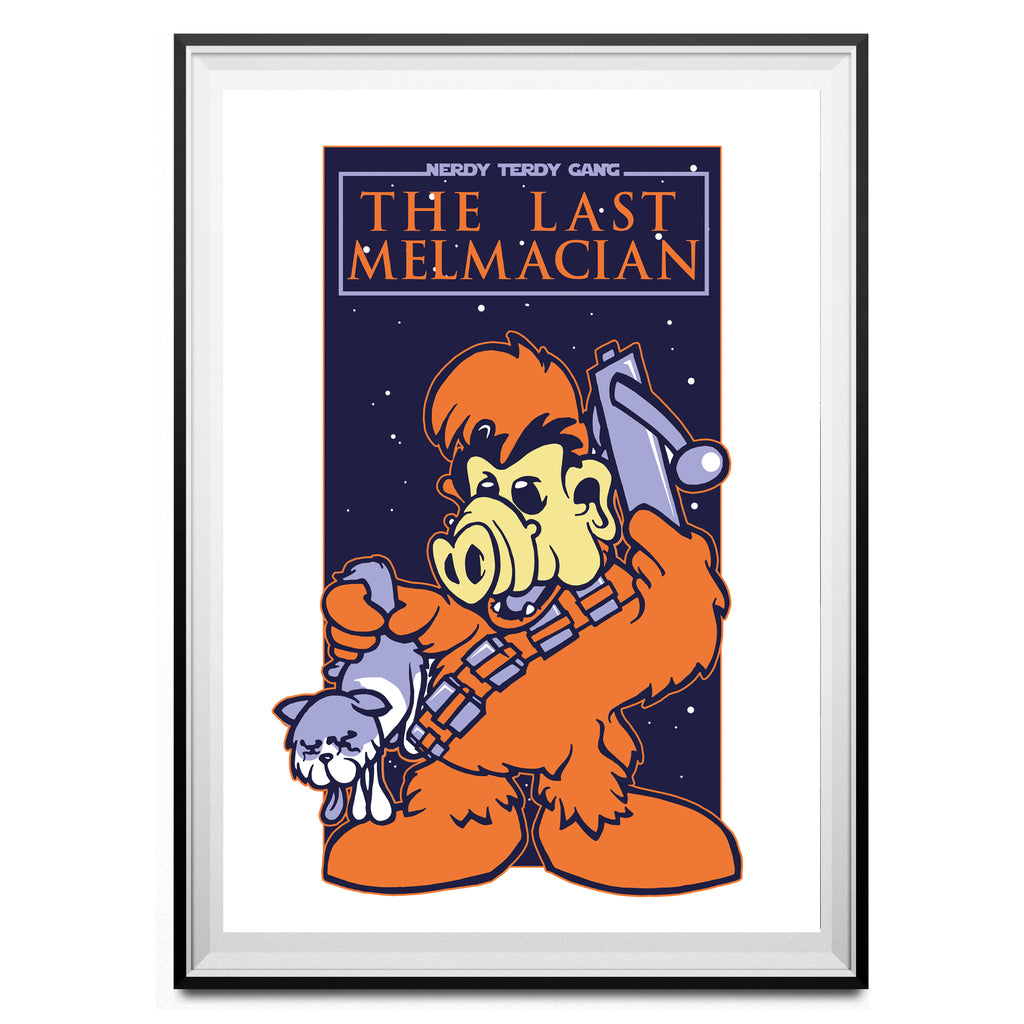 MELMACIAN FINEST - THE LAST MELMACIAN ART PRINT