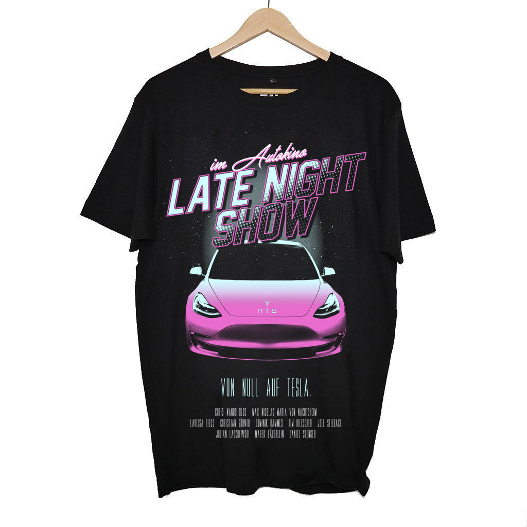 IM AUTOKINO - LATE NIGHT SHOW SHIRT BLACK
