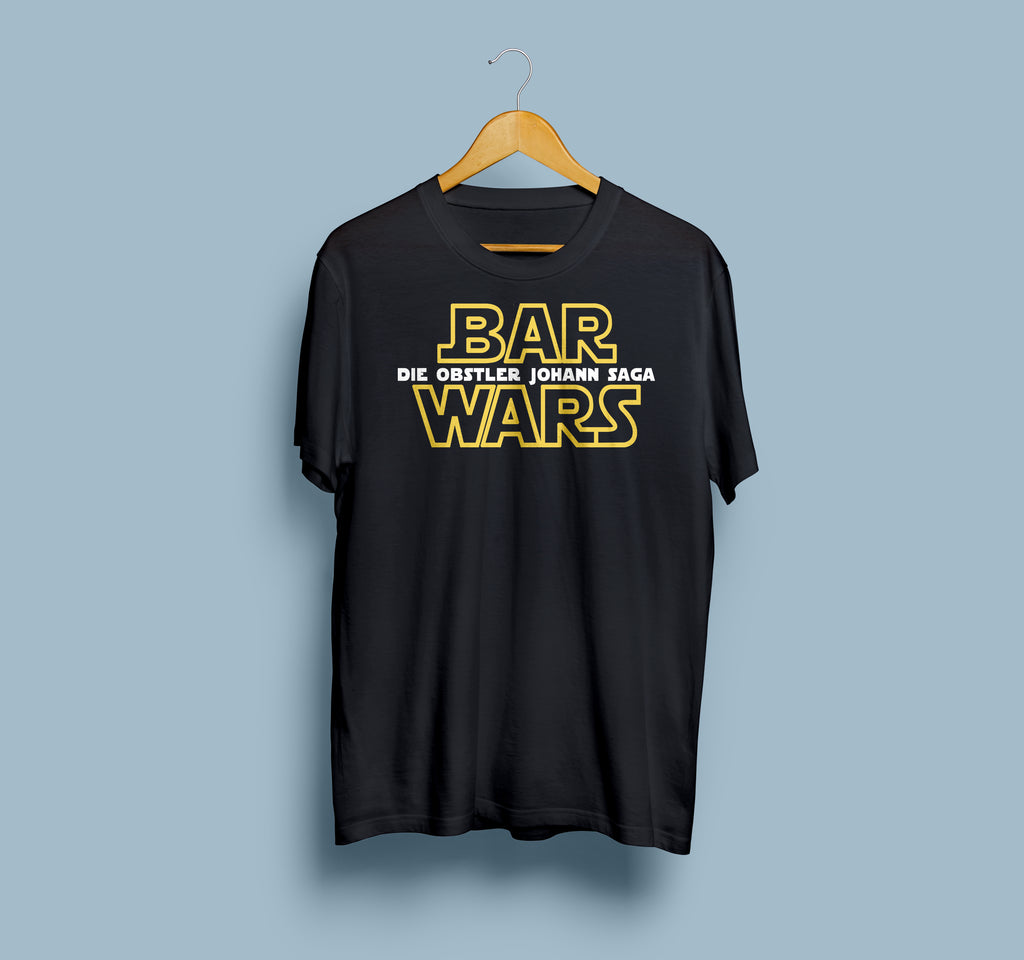 DIETMAR DIAMANT - BAR WARS SHIRT SCHWARZ