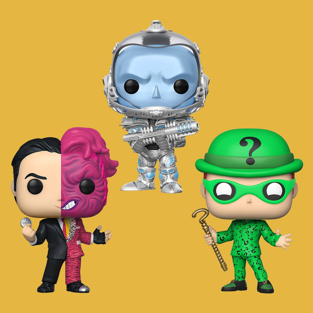 FUNKO POP! BATMAN MOVIE VILLAINS SET