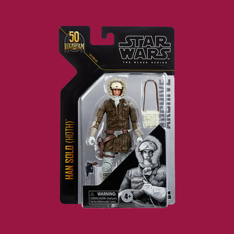 STAR WARS x HASBRO - BLACK SERIES ARCHIVE - HAN SOLO (HOTH OUTFIT)