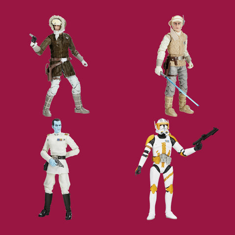 STAR WARS x HASBRO - BLACK SERIES ARCHIVE - KOMPLETTE WAVE 1 (2021)