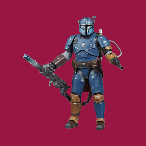 HASBRO - STAR WARS BLACK SERIES - HEAVY INFANTRY MANDALORIAN 15CM
