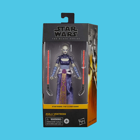 HASBRO - STAR WARS BLACK SERIES - ASAJJ VENTRESS (THE CLONE WARS)