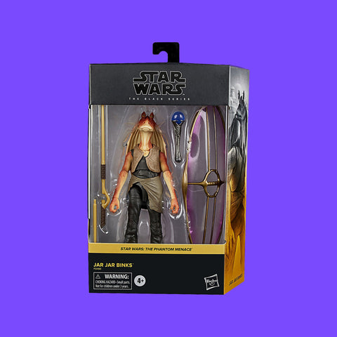 HASBRO - STAR WARS BLACK SERIES -JAR JAR BINKS