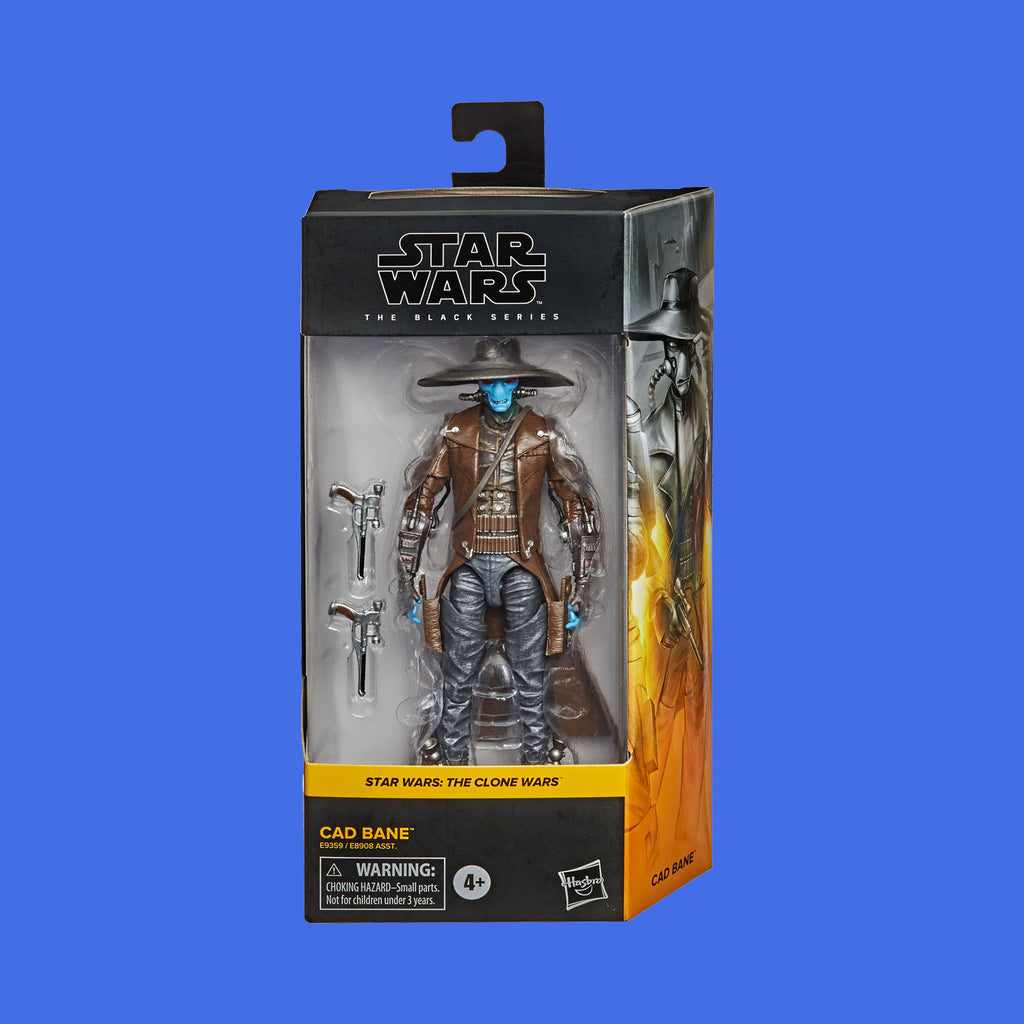 STAR WARS x HASBRO - BLACK SERIES ACTIONFIGUR CAD BANE (THE CLONE WARS)