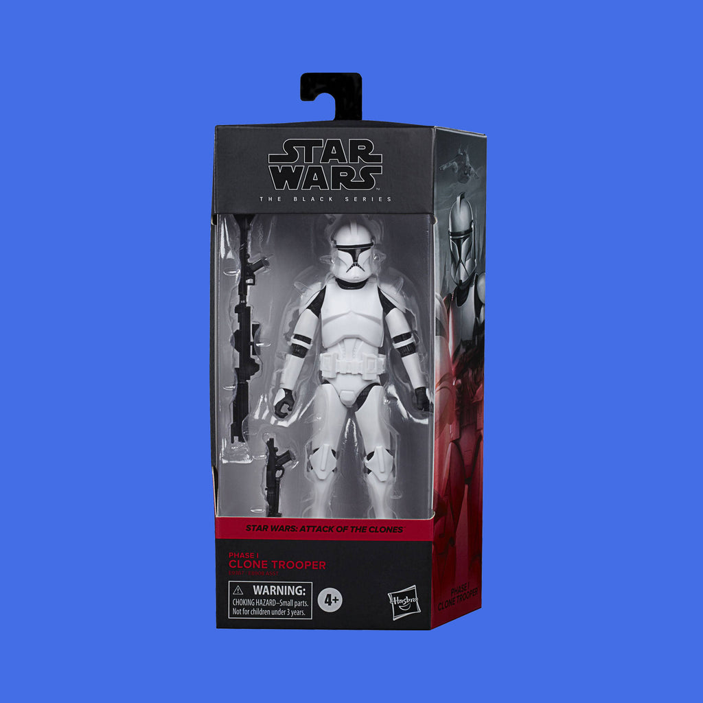 STAR WARS x HASBRO - BLACK SERIES ACTIONFIGUR PHASE 1 CLONE TROOPER