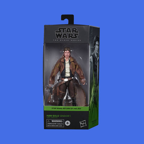 STAR WARS x HASBRO - BLACK SERIES ACTIONFIGUR HAN SOLO ENDOR OUTFIT