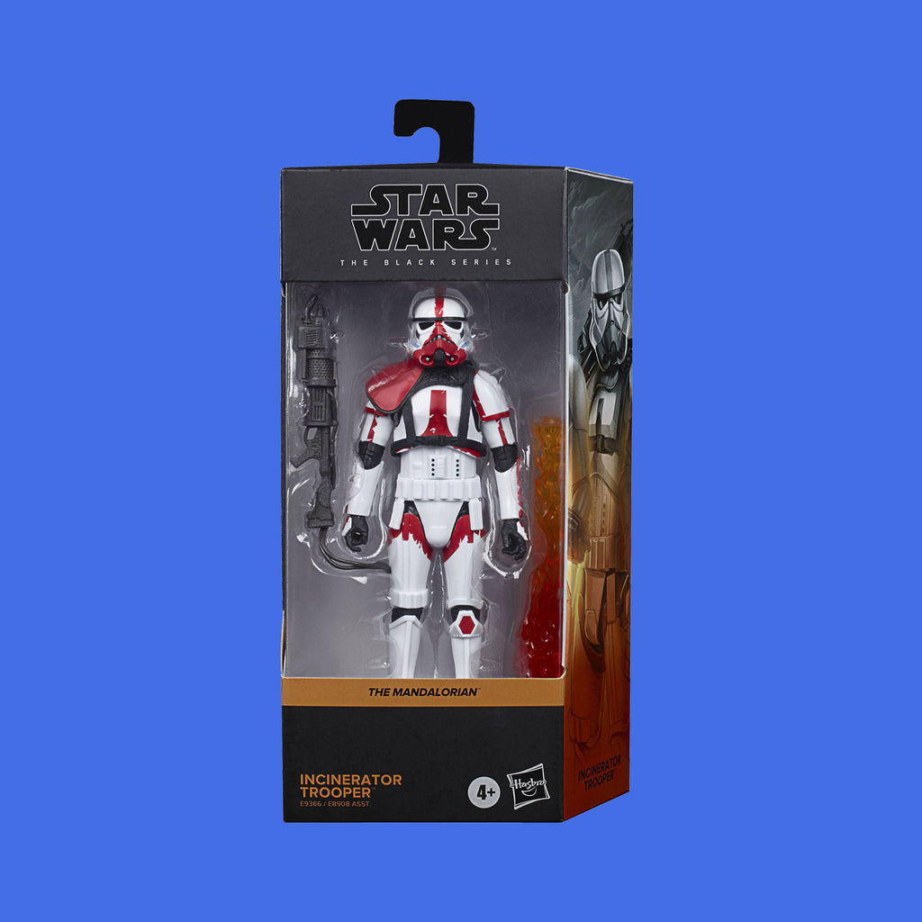 STAR WARS x HASBRO - BLACK SERIES ACTIONFIGUR INCINERATOR TROOPER (THE MANDALORIAN)