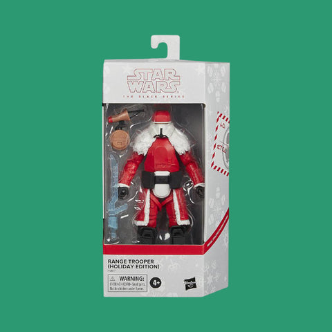 STAR WARS x HASBRO - BLACK SERIES ACTIONFIGUR RANGE TROOPER HOLIDAY EDITION