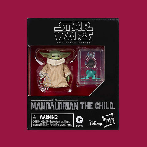 STAR WARS x HASBRO - THE MANDALORIAN BLACK SERIES ACTIONFIGUR THE CHILD 3CM