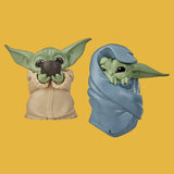 STAR WARS - MANDALORIAN BOUNTY COLLECTION FIGUREN 2ER-PACK THE CHILD / GROGU SIPPING SOUP & BLANKET-WRAPPED 6CM