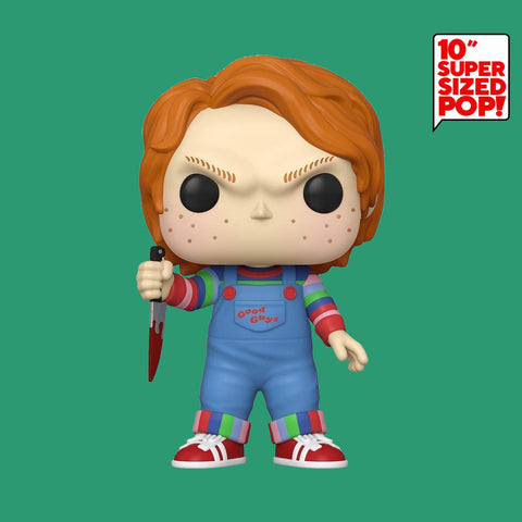 FUNKO POP - CHILD'S PLAY - CHUCKY DIE MÖRDERPUPPE (10 INCH, OVERSIZE!)