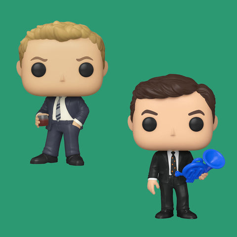HOW I MET YOUR MOTHER x FUNKO POP - BARNEY & TED SET