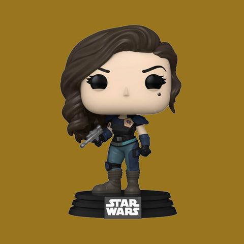 STAR WARS THE MANDALORIAN x FUNKO POP - CARA DUNE WITH BADGE