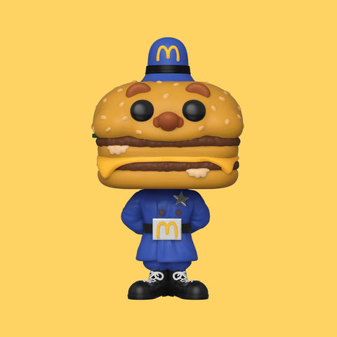MC DONALD'S - OFFICER MAC FUNKO POP!