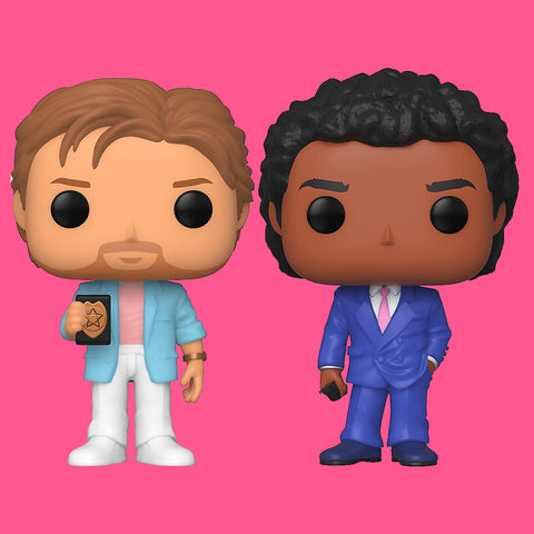 FUNKO POP! MIAMI VICE - CROCKETT & TUBBS (SET)