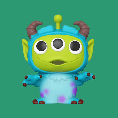 FUNKO POP - PIXAR REMIX - TOY STORY ALIEN AS SULLEY (9CM)