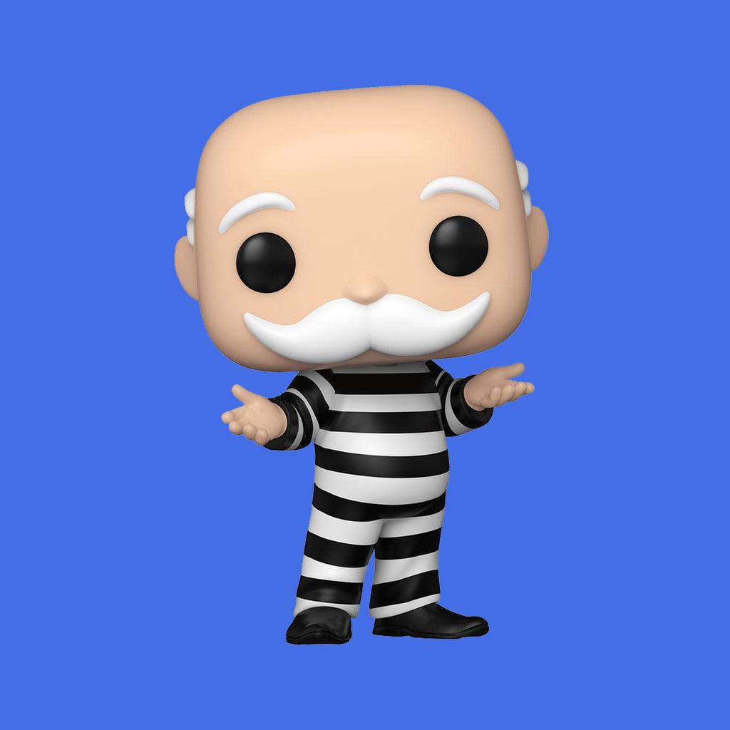 FUNKO POP! x HASBRO MONOPOLY - CRIMINAL UNCLE PENNYBAGS