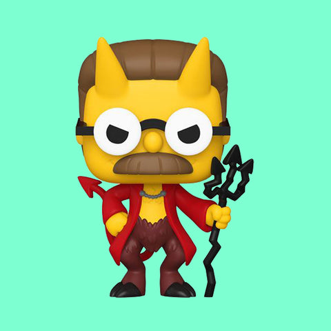 FUNKO POP! SIMPSONS TREEHOUSE OF HORROR - DEVIL FLANDERS