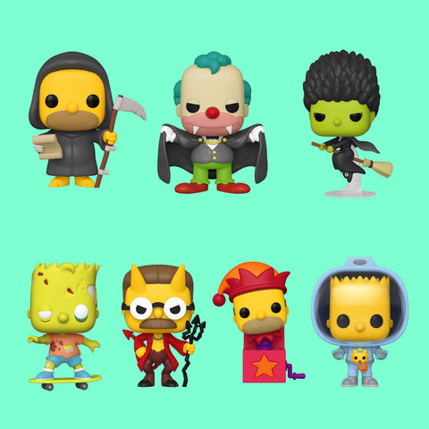 FUNKO POP! SIMPSONS TREEHOUSE OF HORROR - ALLE IM SET