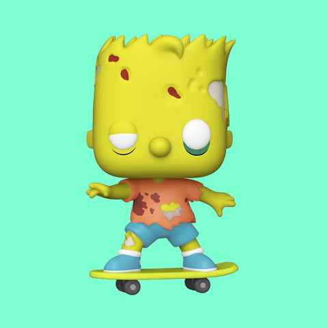 THE SIMPSONS TREEHOUSE OF HORROR x FUNKO POP! - ZOMBIE BART