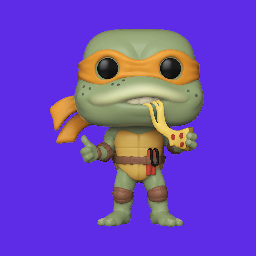 FUNKO POP! x MOVIE TEENAGE MUTANT NINJA TURTLES - MICHELANGELO (9CM)