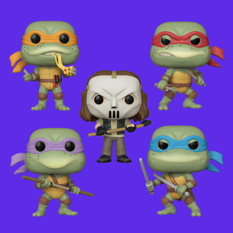 FUNKO POP! x MOVIE TEENAGE MUTANT NINJA TURTLES - FULLSET