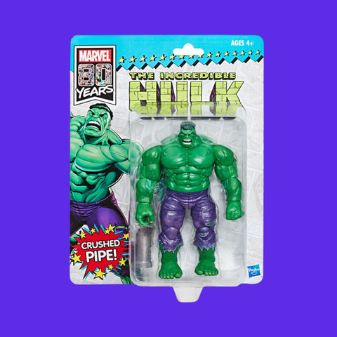 HASBRO MARVEL RETROLINE - HULK (15CM) SDCC EXCLUSIVE!