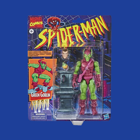 HASBRO MARVEL RETROLINE - SPIDER-MAN: GREEN GOBLIN (15CM)