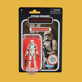 HASBRO - STAR WARS MANDALORIAN - VINTAGE COLLECTION REMNANT STORMTROOPER (CARBONIZED)