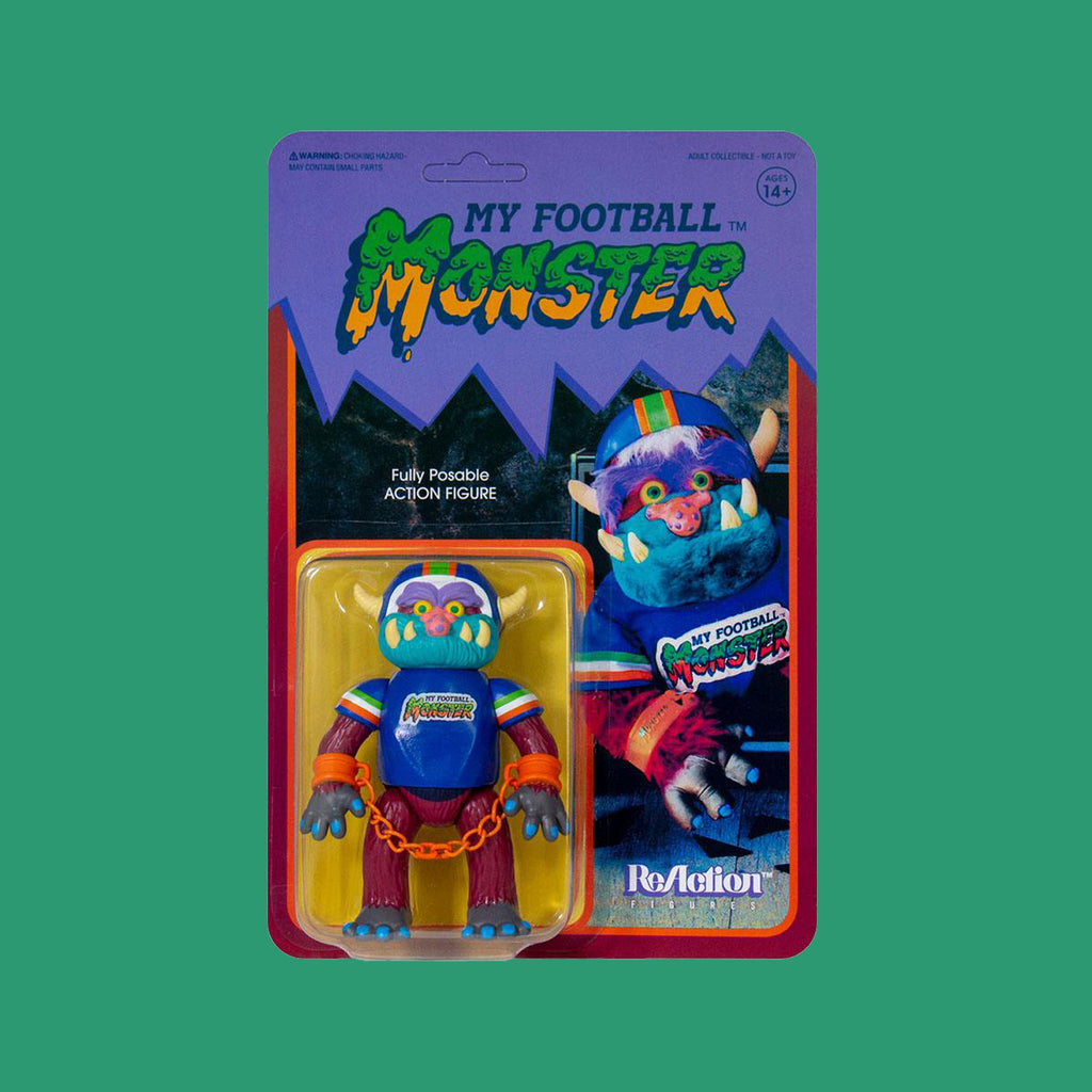 MY PET MONSTER - REACTION ACTIONFIGUR MY FOOTBALL MONSTER 10CM