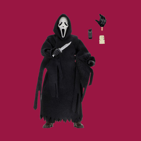 NECA - SCREAM - GHOSTFACE RETRO ACTIONFIGUR (20CM)