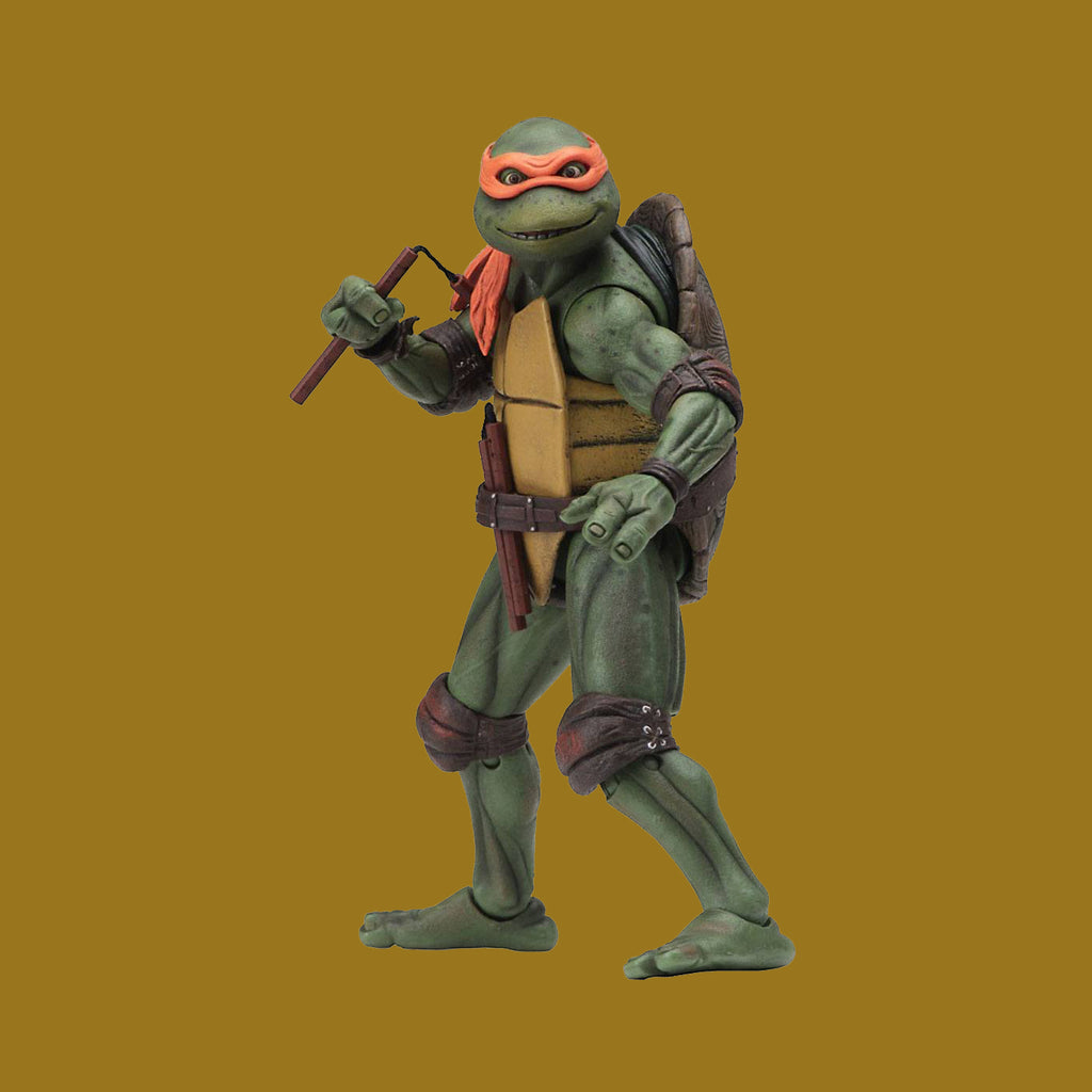 TEENAGE MUTANT NINJA TURTLES x NECA - 1990 MOVIE ACTIONFIGUR MICHELANGELO 18CM