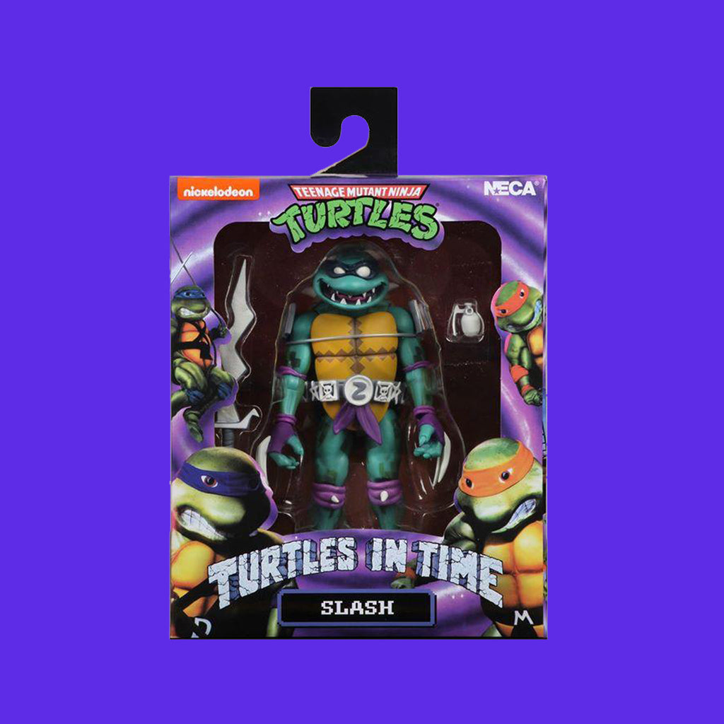 TEENAGE MUTANT NINJA TURTLES x NECA - TURTLES IN TIME ACTIONFIGUR SERIE 1 SLASH 18CM