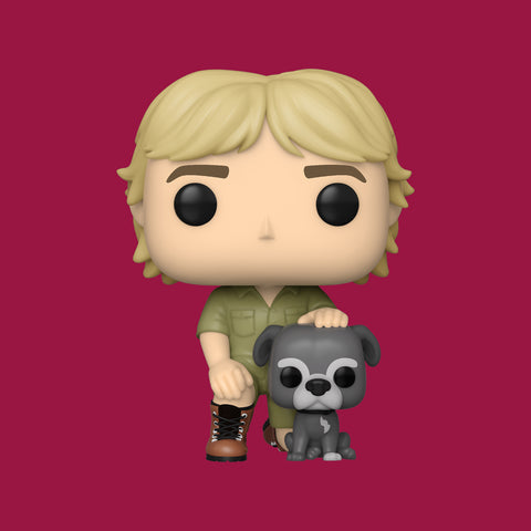 CROCODILE HUNTER x FUNKO POP! - STEVE IRWIN WITH SUI